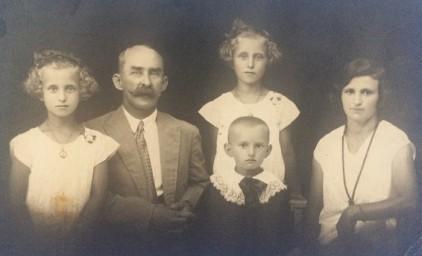 Рухлядев В.И. с семьей