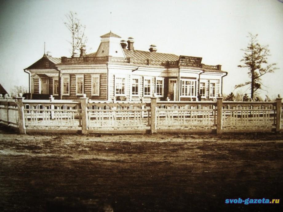 Двуклассное училище Алексеевска (позднее - шк.им.Гондатти, начальная шк.№2, ДЮСШ №1 ...)
