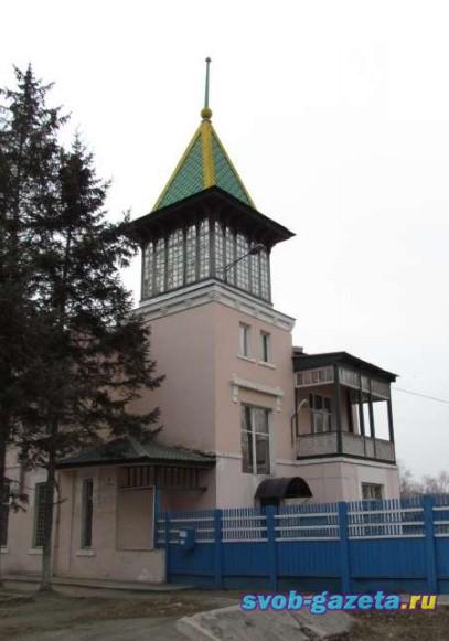 Административное здание дистанции гражданских сооружений Свободненского отделения Забайкальской ж/д