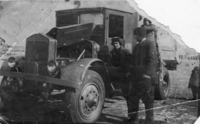 Транспорт. Авто 40-х гг. в Свободном