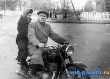 На улицах Свободного в 50-е гг.