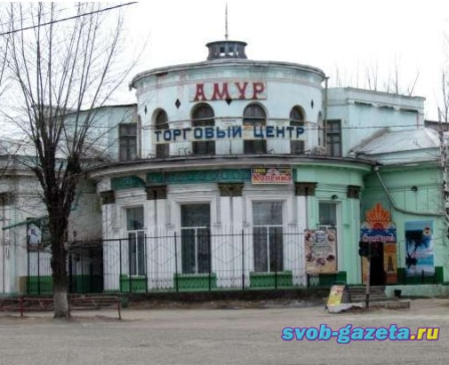 Здание бывшей столовой ОРСа
