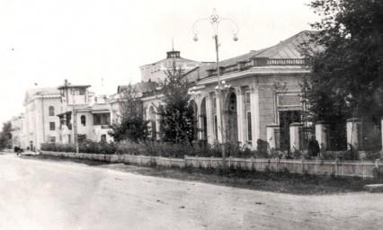 Здание ресторана «Амур»