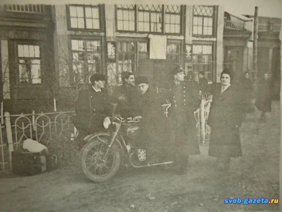 Старый ж.д. вокзал г. Свободный