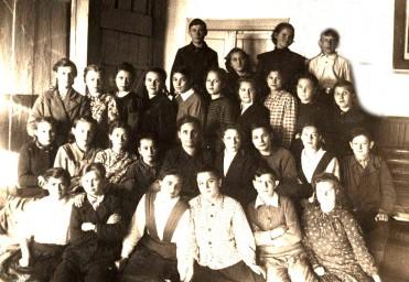 Выпуск 7 кл. шк.№12, 1950 г.
