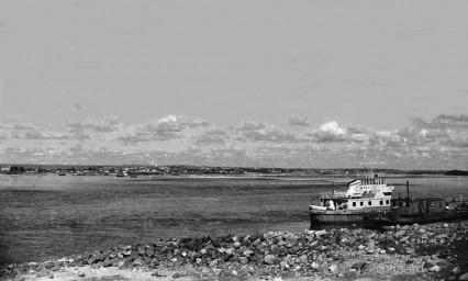 Транспорт. Суражевка с левого берега Зеи