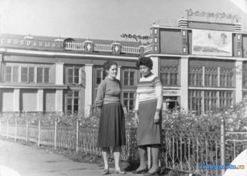 Ж.д. вокзал гор. Свободный, 1966 г.