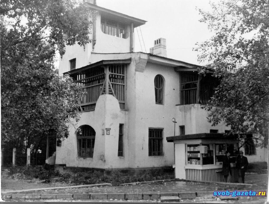 """Здание 1914 г., стиль """"Модерн"""""""