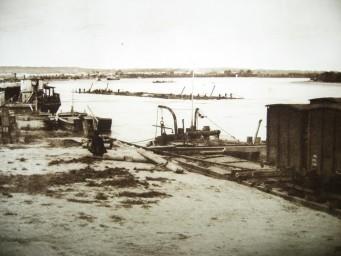 Алексеевск. Товарная пристань