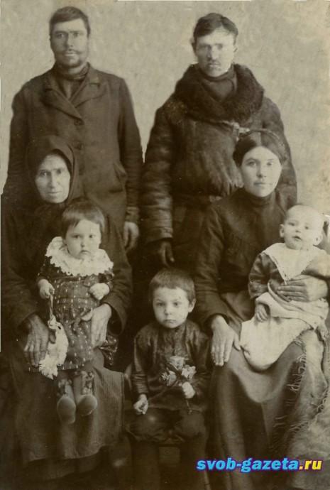 Основатели амурской Суражевки