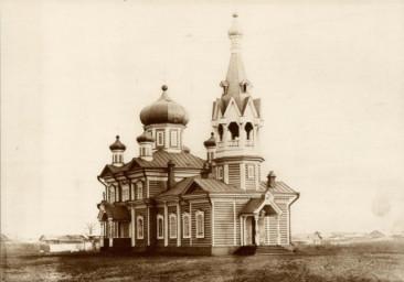 Никольская церковь в Суражевке