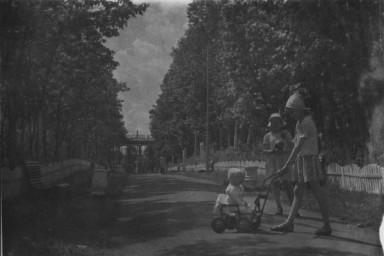Аллея в ж.д.парке