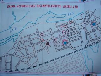 План-схема школ Суражевки