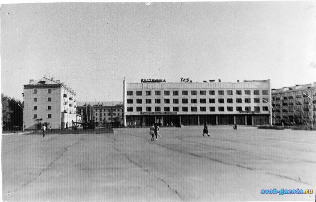 "Гостиница ""Зея"", 1976 г."