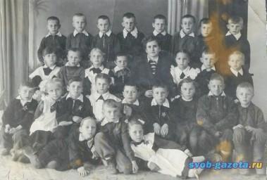 школа №1, 1958 г