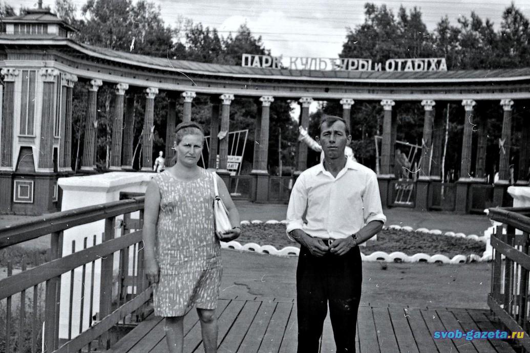 Вход в бывш.ж.д.парк