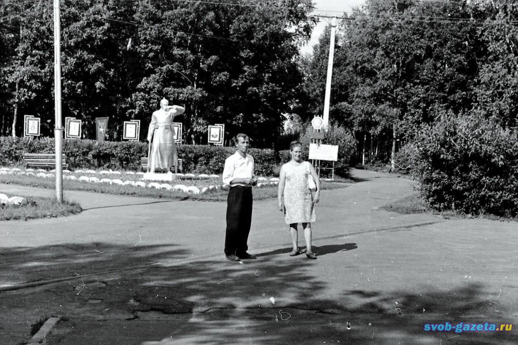 На дорожках ж.д.парка