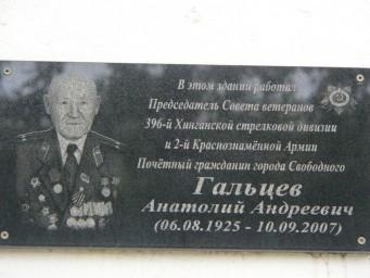 Гальцев А.А.