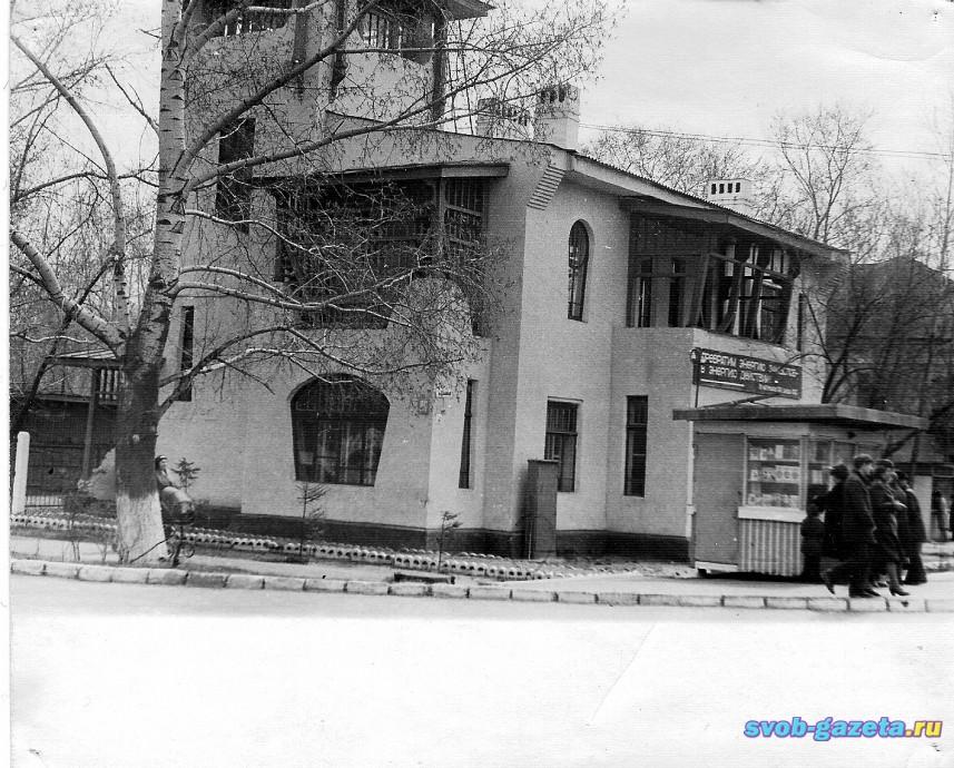 """Здание 1914 г. Стиль """"модерн"""""""