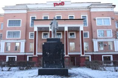 Здание бывшего Управления ГУЛАГа в марте 2019 года