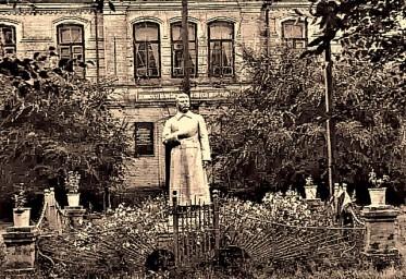 Памятник Сталину в сквере Управления тогда Амурской ж.д.