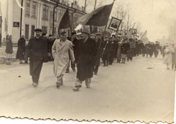 Демонстрация 1 мая 1959 г.
