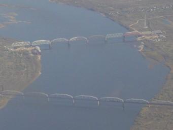 Ж.д. мосты через Зею под Свободным