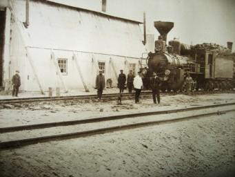 Станция Алексеевск. Паровозное депо