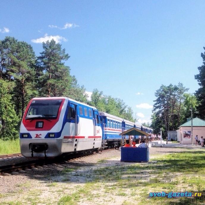 Свободненская Детская Железная дорога, станция Пионерская, Бардагон