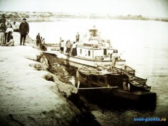 Транспорт. Суражевская пристань 1920-е годы