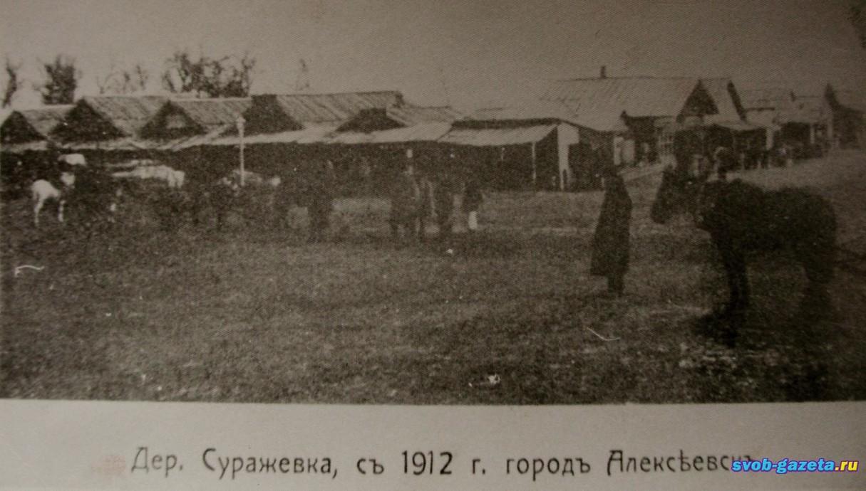 Деревня Суражевка