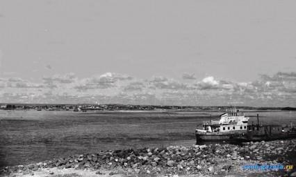 Транспорт. Вид на Суражевку с левого берега Зеи